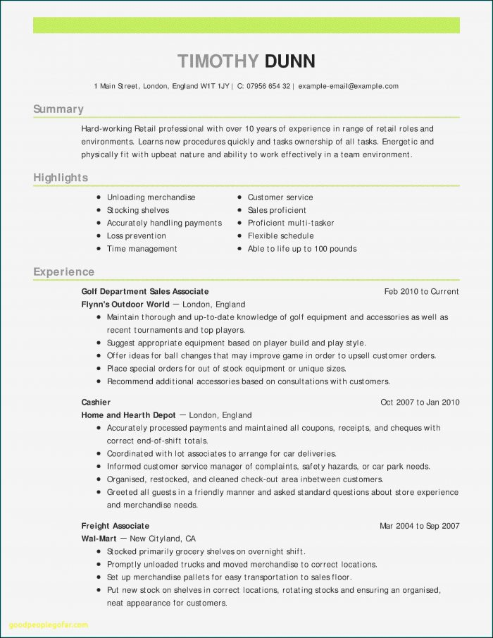 Resume Sample For Nurses With Experience