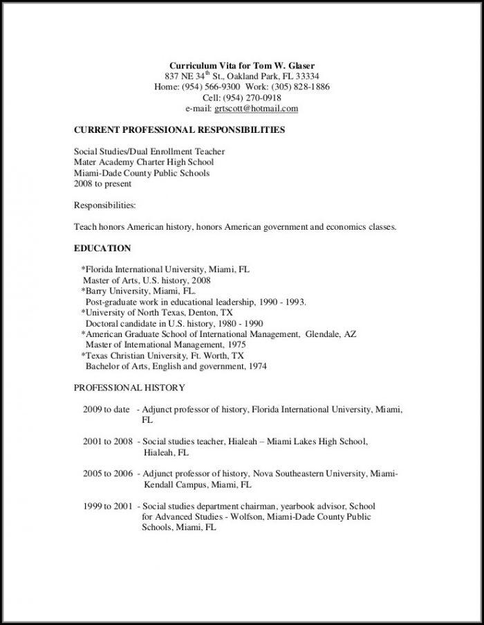 Resume Writing Service Houston Texas