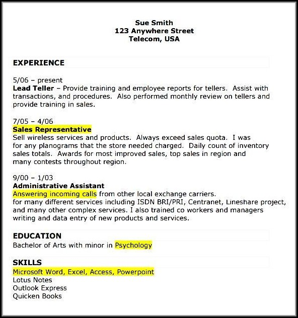 Retail Store Manager Resume Format Download