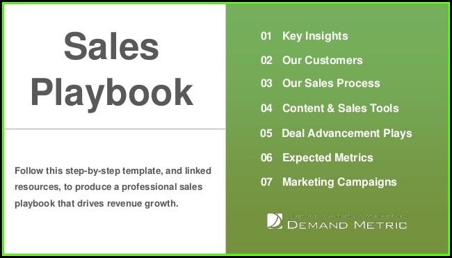 Sales Playbook Template