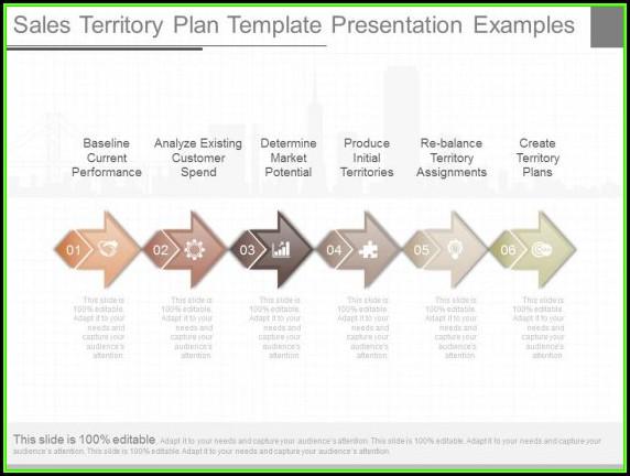Sales Territory Plan Powerpoint Template