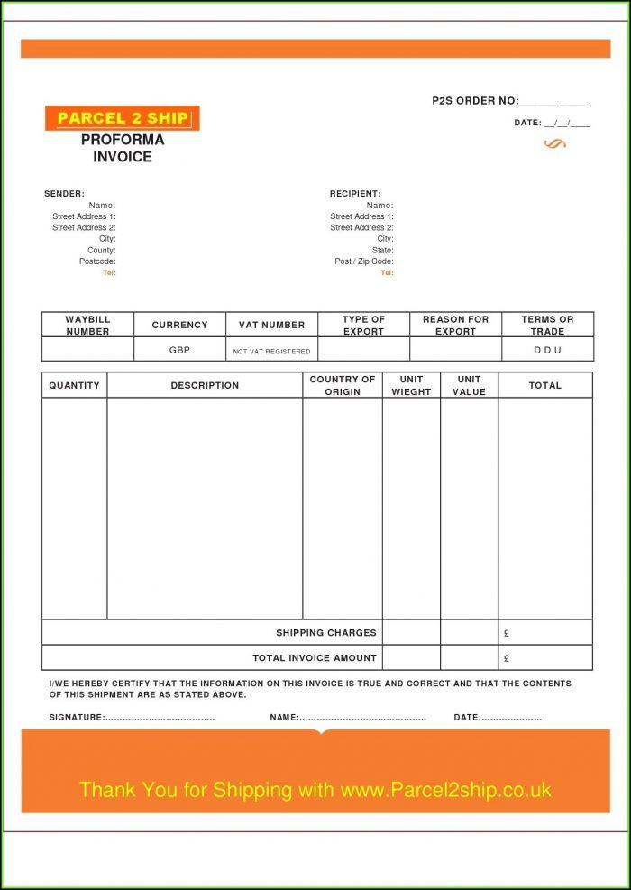 Sample Invoice Template Word Uk