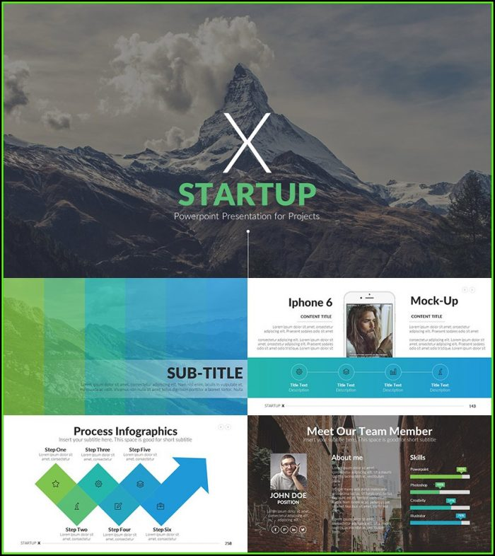 Startup Pitch Deck Template Ppt Free