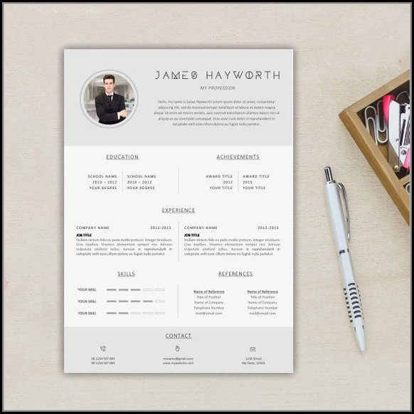 Us Resume Template Free Download