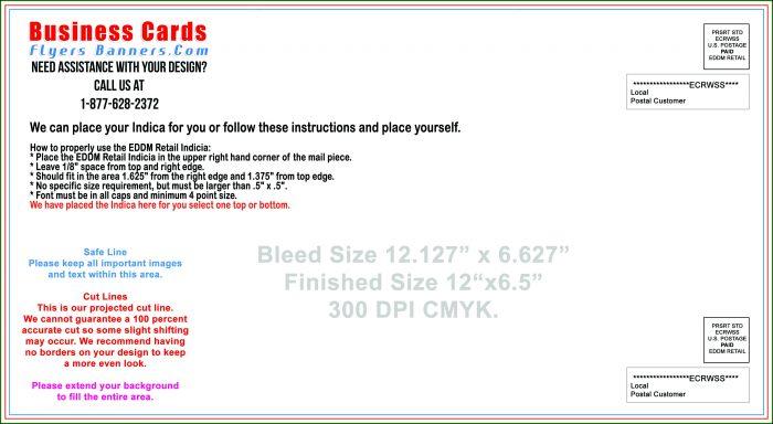 Usps Eddm Postcard Template