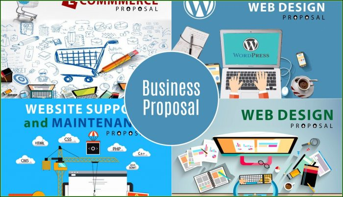 Web Design Proposal Template Free Download