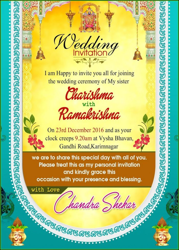 Wedding Invitation Templates Psd Free Download