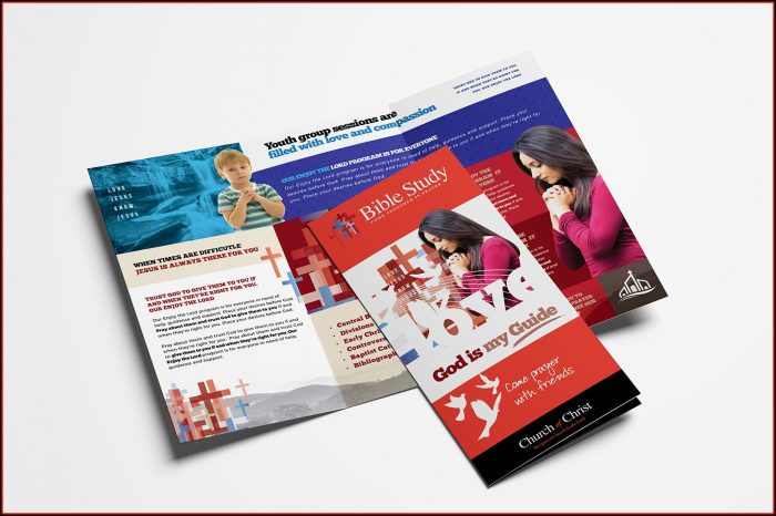 Church Brochure Template Psd