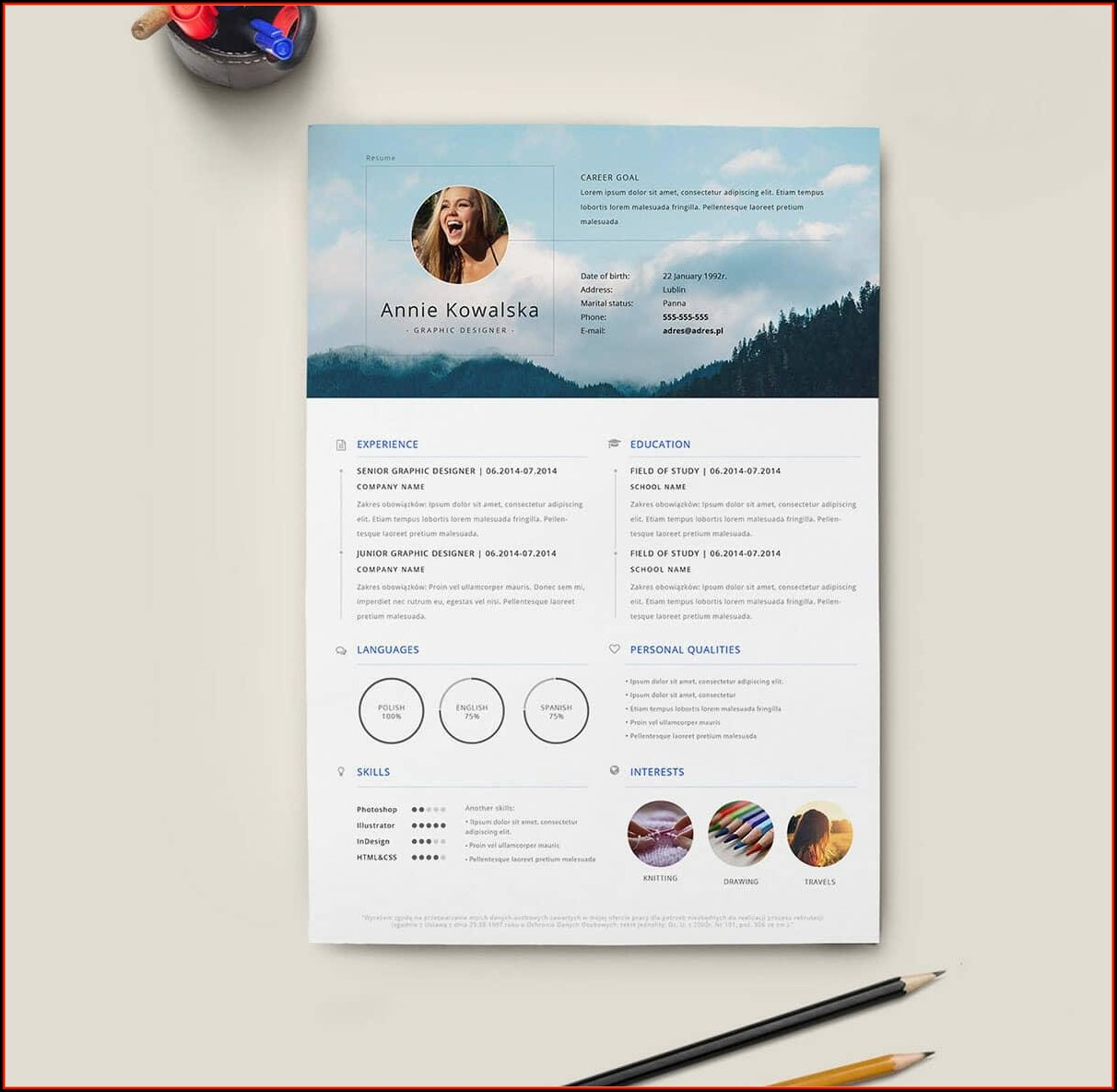 Cool Resume Templates Free Download