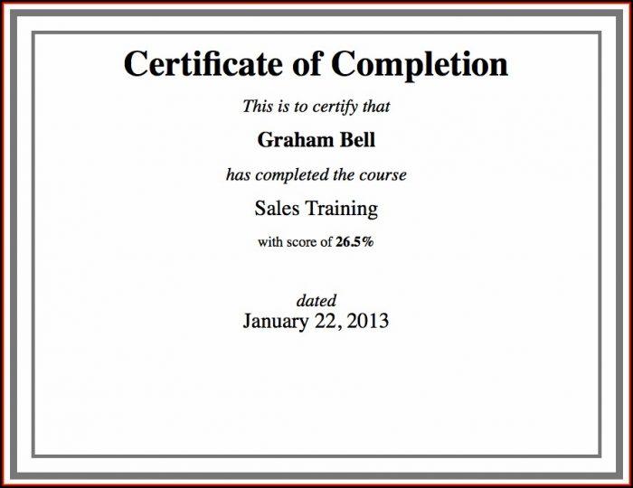 Custom Certificate Template Using Html