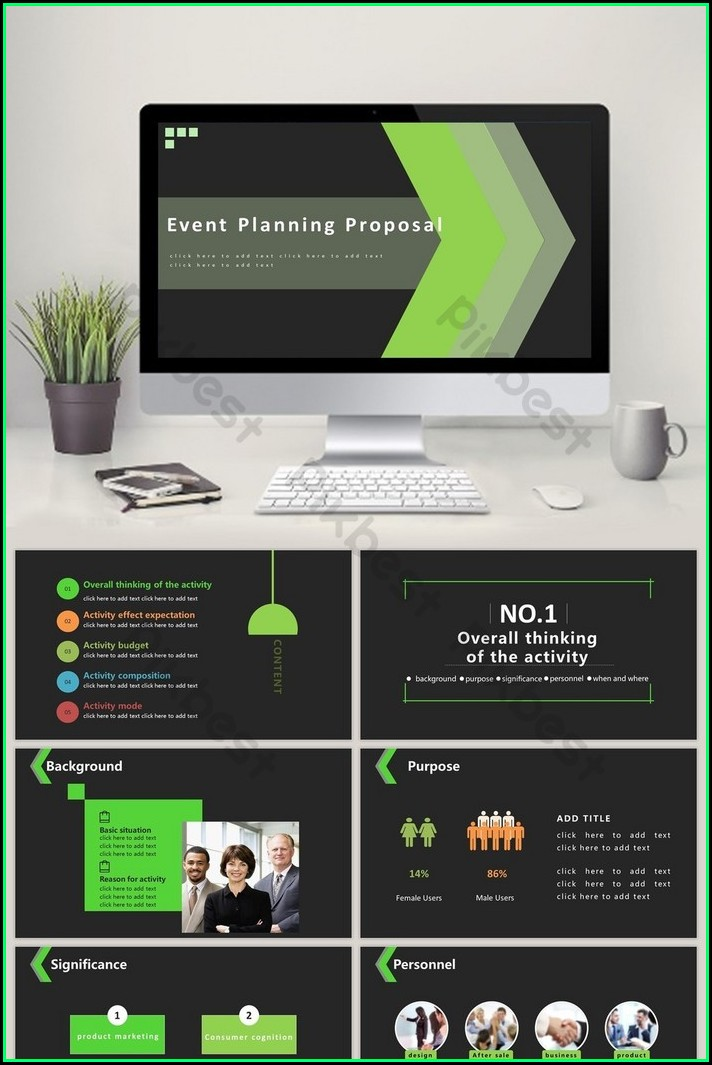 Event Planning Proposal Template Ppt