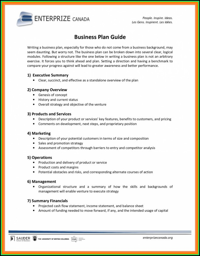 Food Truck Business Plan Template Pdf