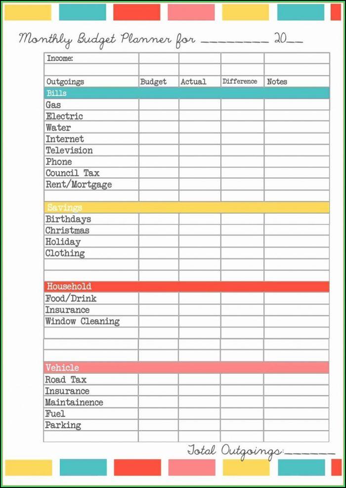 Free Bookkeeping Spreadsheet Uk