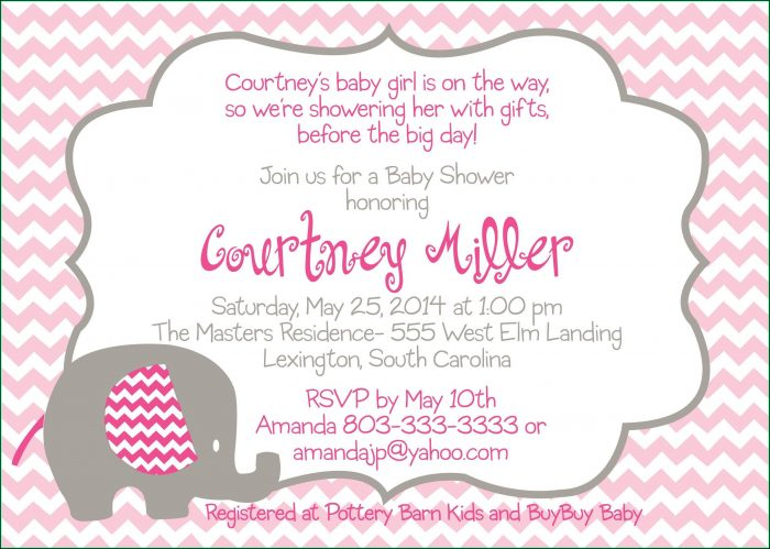 Free Digital Baby Shower Invitation Templates