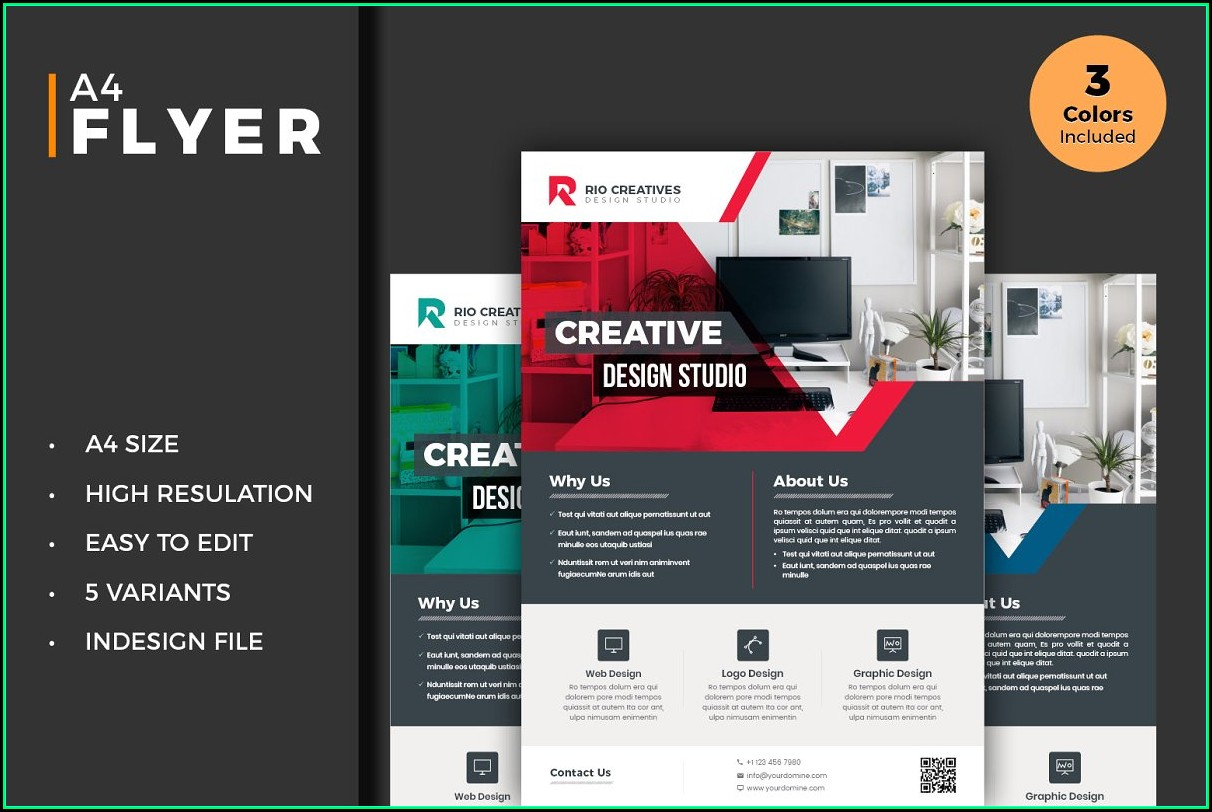 Free Event Flyer Template Indesign
