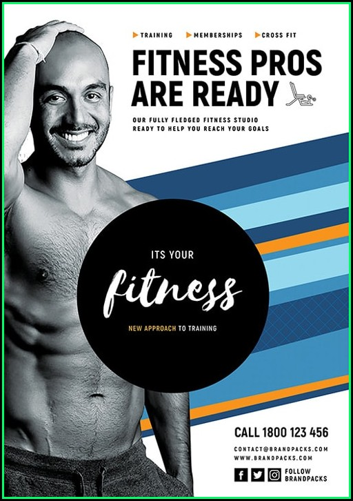 Free Fitness Flyer Templates Download