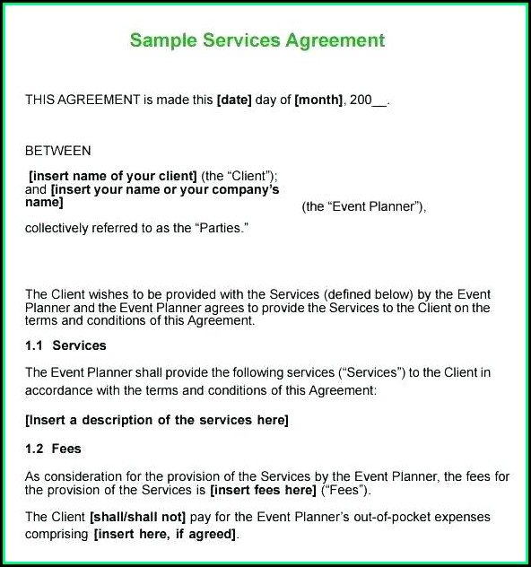 Free Terms And Conditions Template For Consultancy Services