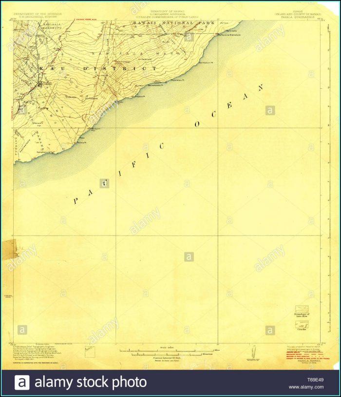 Hawaii Topo Map