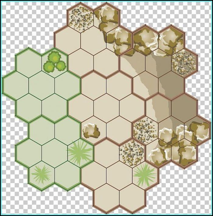 Hexagon Tile Map