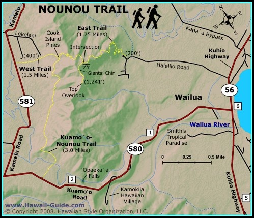 Kauai Hiking Maps