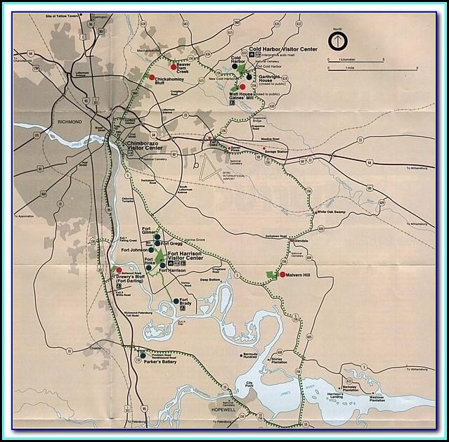 Map Of Civil War Battles In Illinois