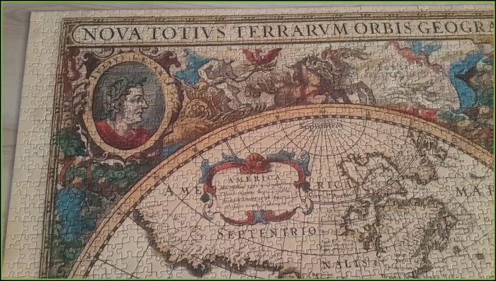 Ravensburger Antique World Map