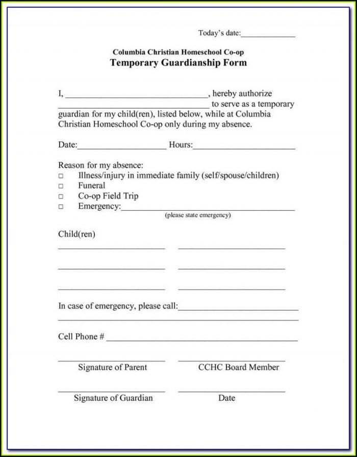 Texas Legal Guardianship Forms Pdf