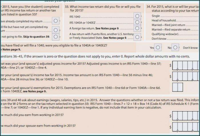 2014 Federal Tax Form 1040ez Instructions