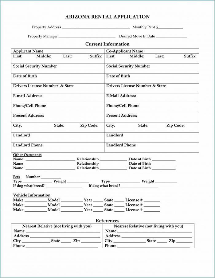 Arizona Landlord Tenant Forms