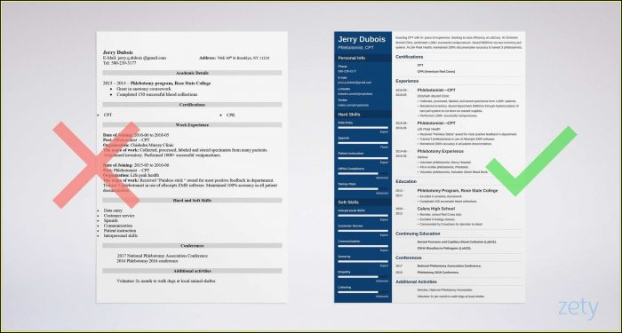 Best Resume Templates For Executives