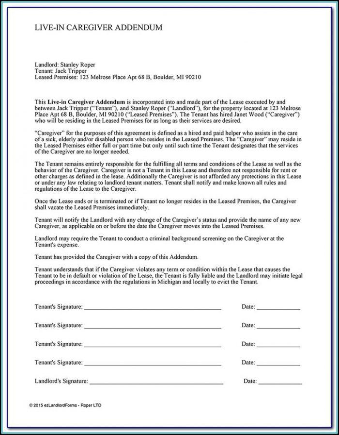Caregiver Documentation Forms