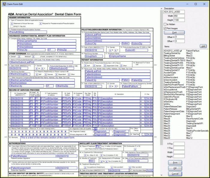 Free Cms 1500 Form Filler