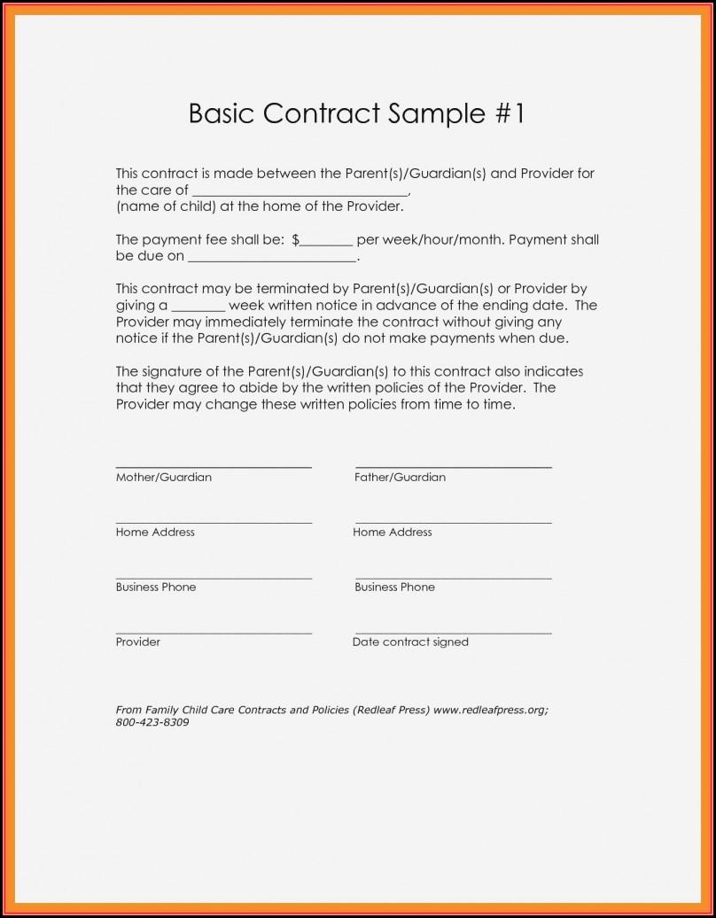 Free Simple Loan Agreement Template Pdf