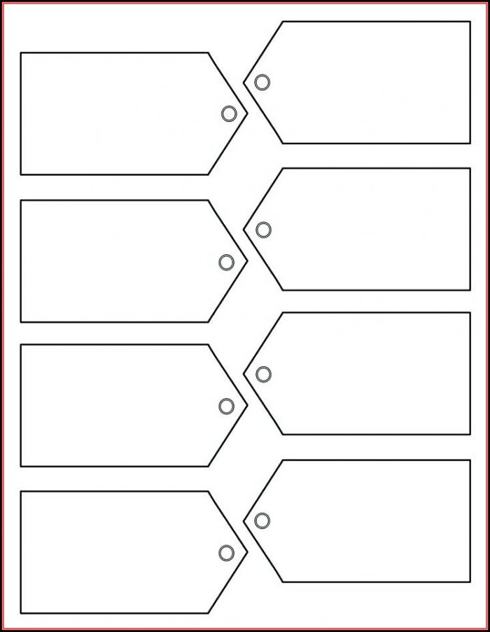 Gift Label Template For Mac