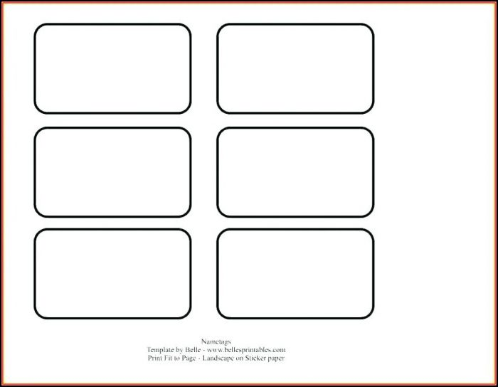 Gift Label Template For Openoffice