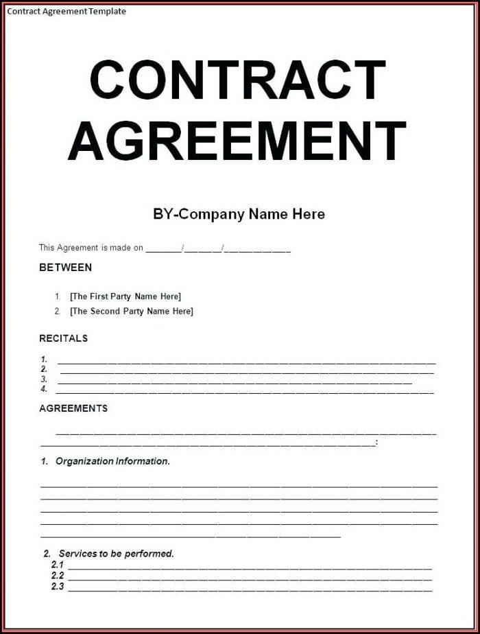 Hipaa Business Associate Agreement Template Word