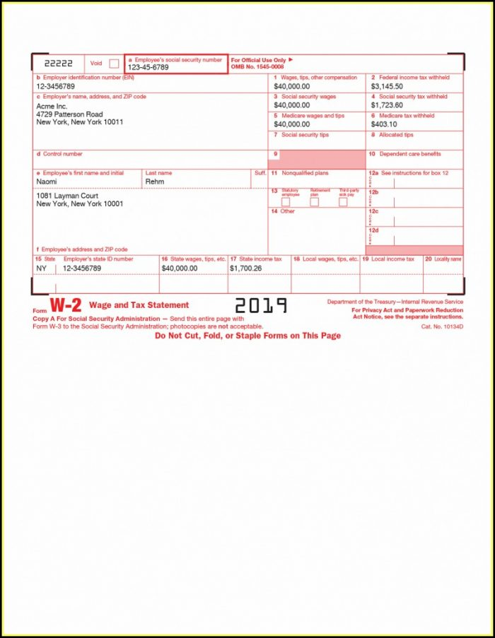 How To Print Your W2 Form Online