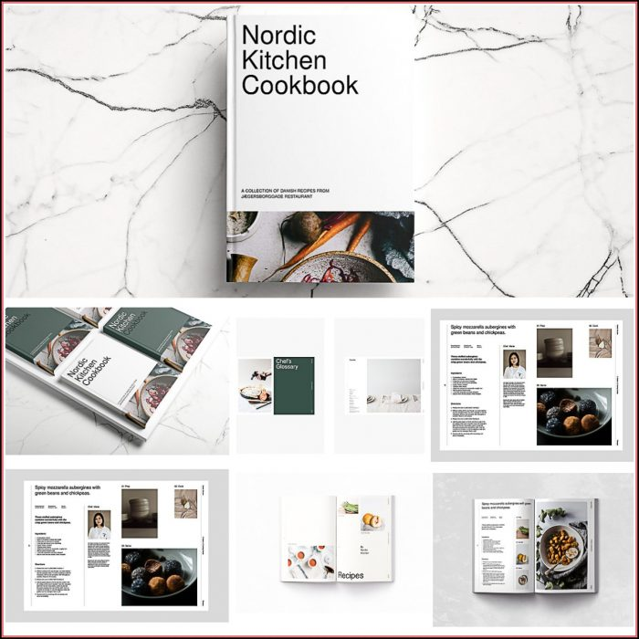 Indesign Cookbook Template Free Download