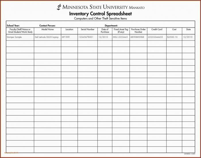 Invoice Template Spreadsheet Free