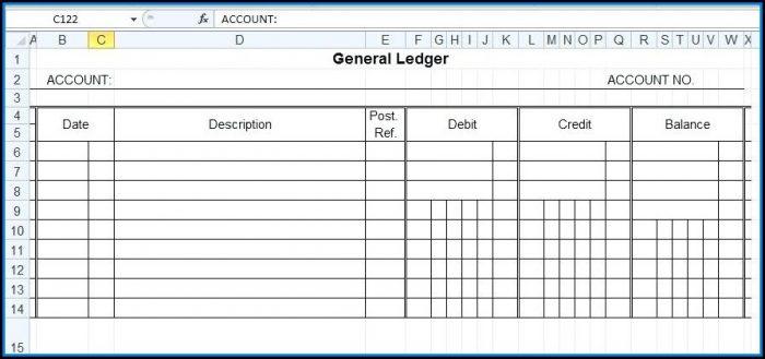 Loan Ledger Template