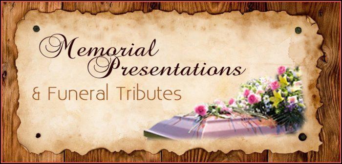 Memorial Slideshow Template Powerpoint