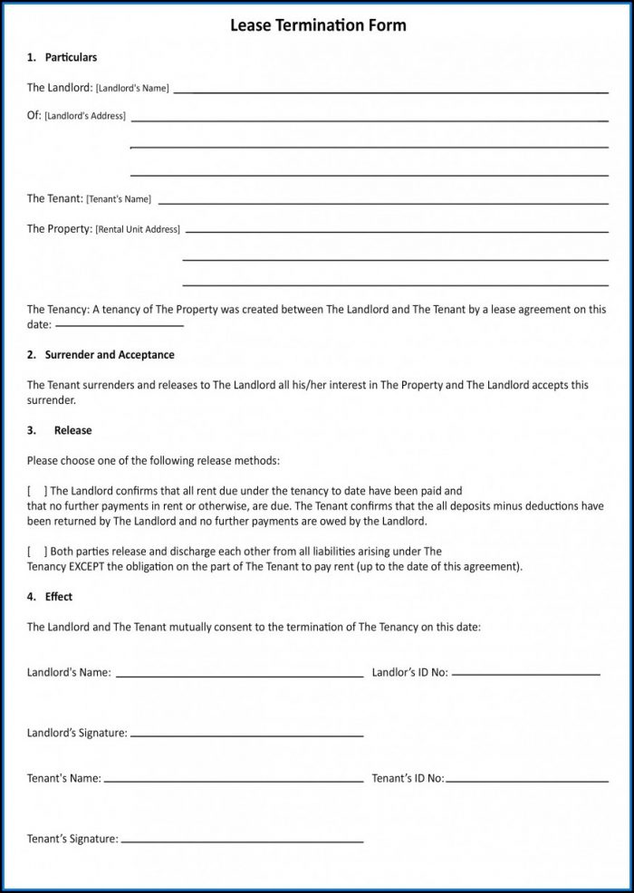 Office Lease Agreement Template South Africa