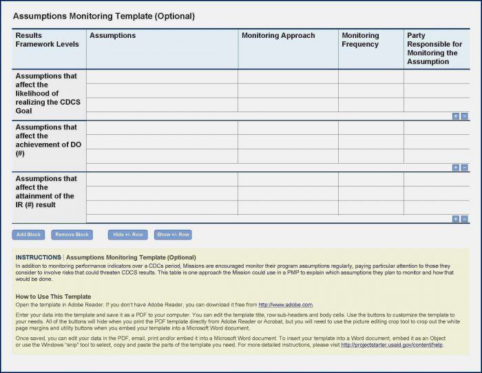 Project Management Document Templates