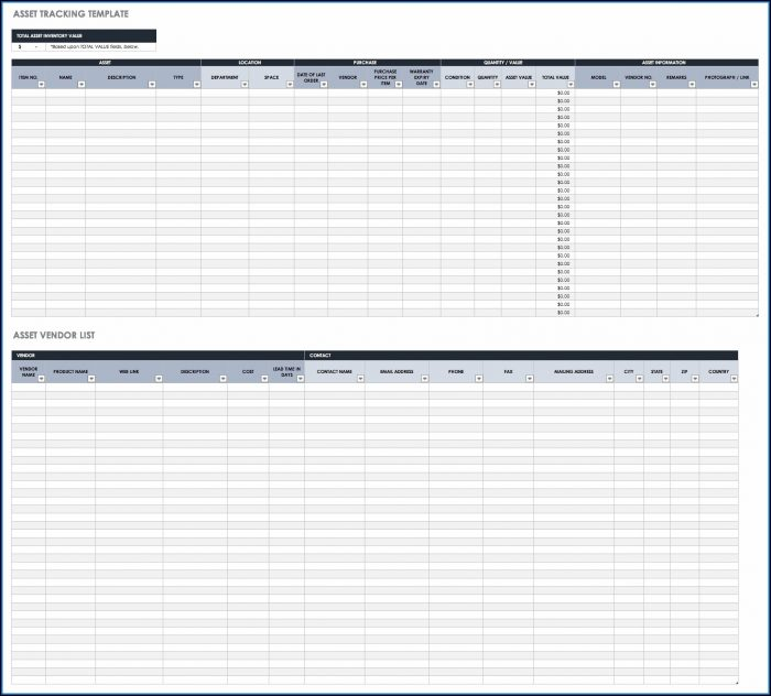 Restaurant Inventory Management Excel Template