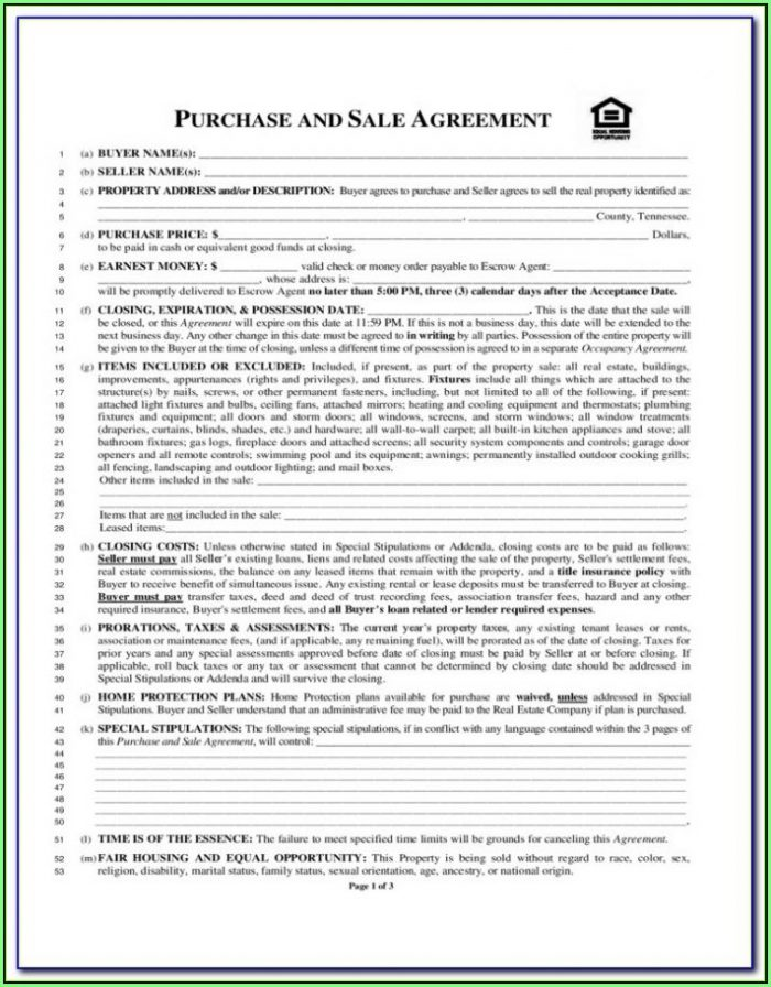 Arkansas Real Estate Contract Forms