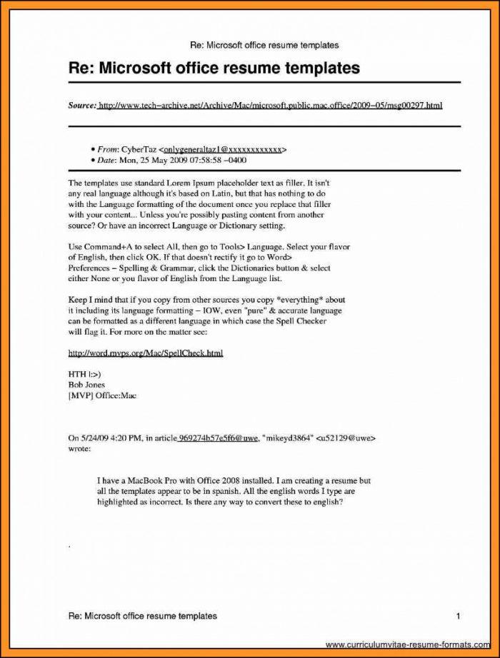 Free Publisher Resume Templates