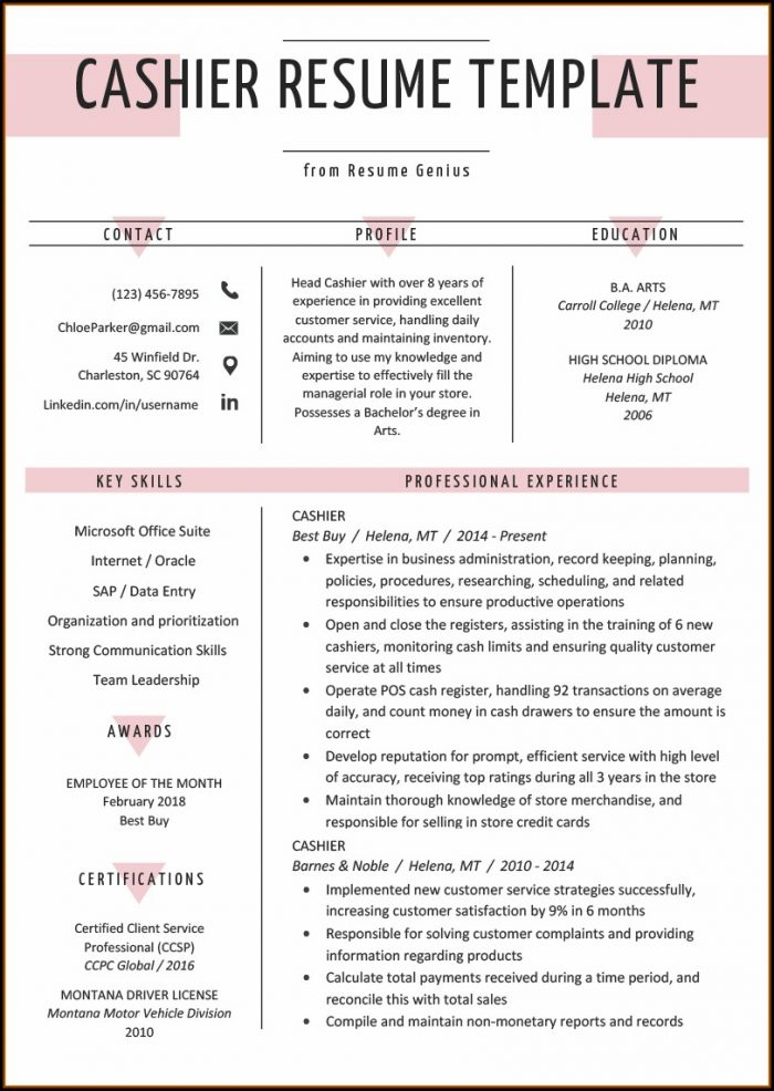 Free Resume Builder No Credit Card Needed