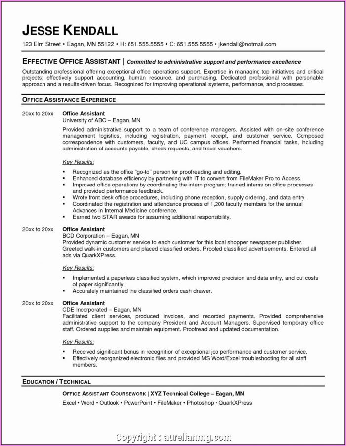 How To Write A Medical Office Assistant Resume