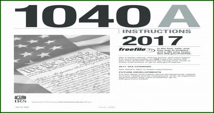 Irs.gov 2014 Tax Form 1040a