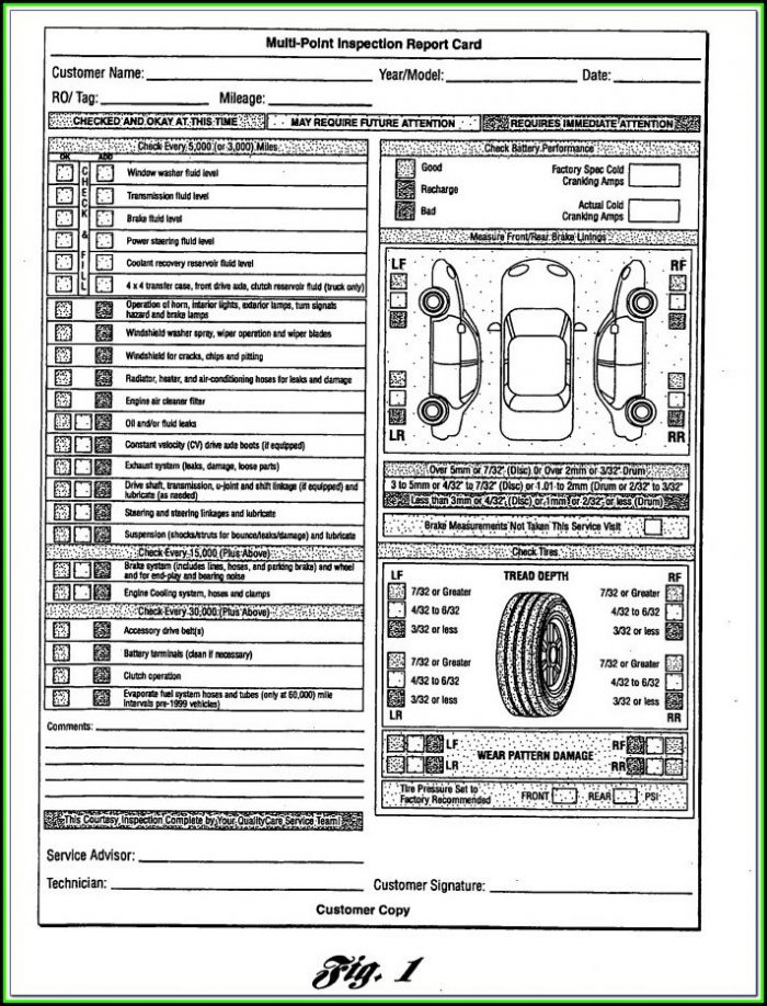 Michigan Salvage Vehicle Inspection Form